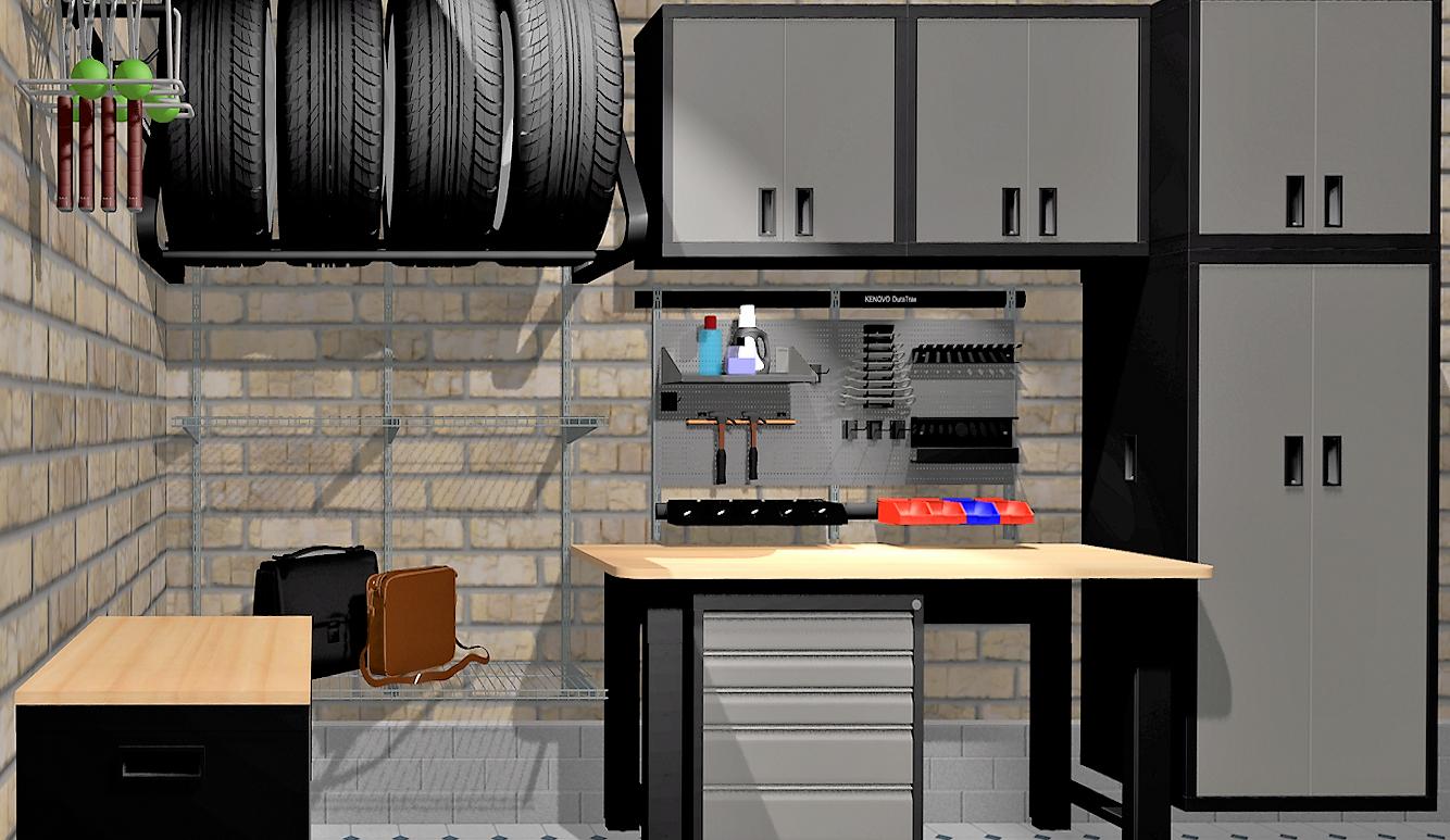 Дизайн-проект обустройства гаража